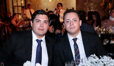 Gunter Stahl y Víctor Favela.