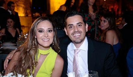 Carolina Hernández y Luis González.