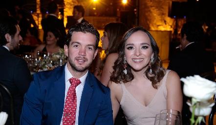 Daniel Granados y María José Ramírez.