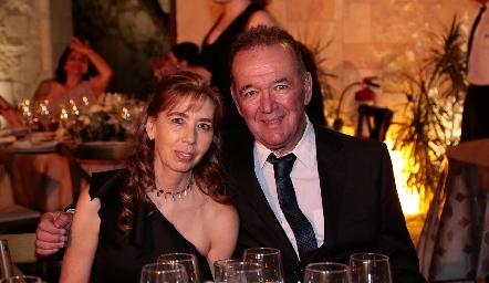 Mercedes Hunter y Fernando Anaya.