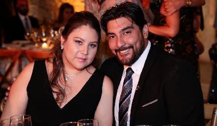 Juliette y Pablo Sainz.