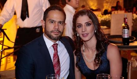 Ferran González y Elizabeth León.
