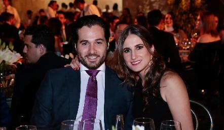 Javier González y Ana María Carrillo.