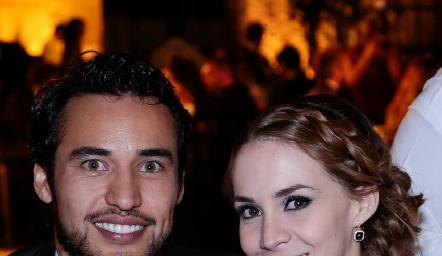 Guillermo Paredes y Ana Rangel.