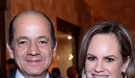 Elías Abud y Rocío Gómez.