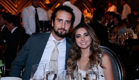 José Carlos Güemes y Bety Medlich.