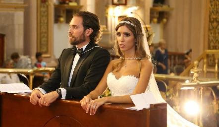 Javier De Antuñano y Daniela Güemes.