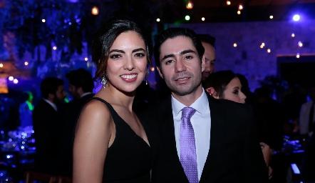 Nadia Solis y Mauricio Zollino.