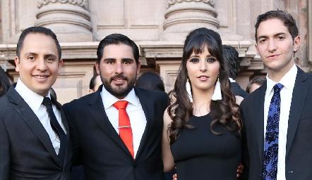 En la Boda de Daniela y Javier.