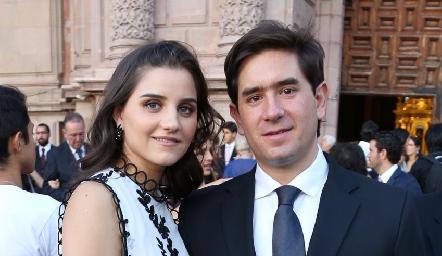 Eugenia Musa y Fernando Abud.