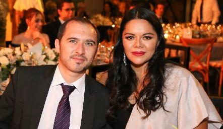Oliverio López y Martha Acevedo.