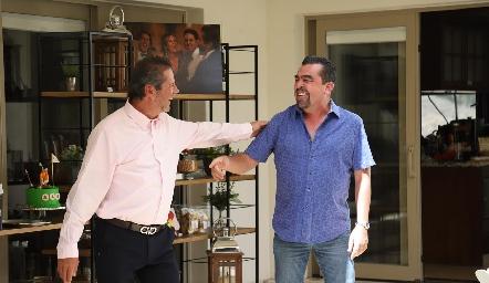 Alejandro Santibáñez y Javier Gómez.