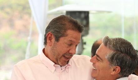 Alejandro Santibáñez y Gerardo Serrano.