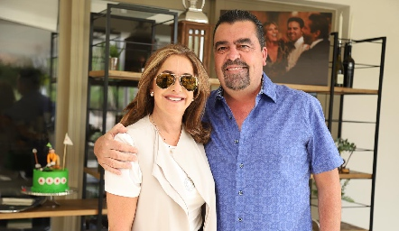 Patricia Gaviño y Javier Gómez.