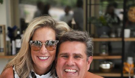 Claudia Quiroz y Galo Galván.