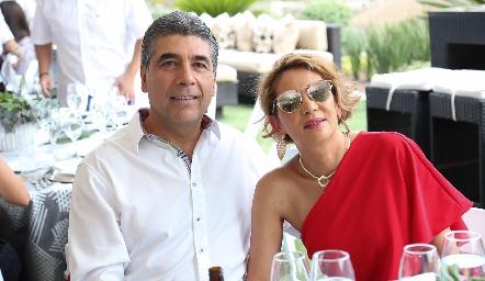 Rafael e Isabel Tobías.
