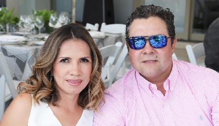 Elsa Castillo y Miguel Lomas.