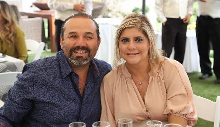 Ricardo Trujillo y Karla Verástegui.
