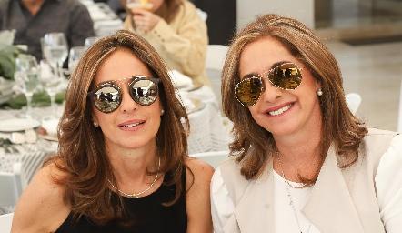 Las gemelas Mónica y Patricia Gaviño.