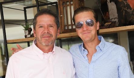 Alejandro Santibáñez y Jordi Jiménez.