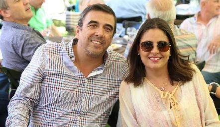 Gerardo Galván y Rocío Ortuño.