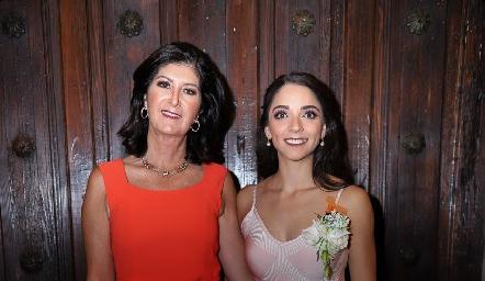 Marus Hernández y Sofía Álvarez.