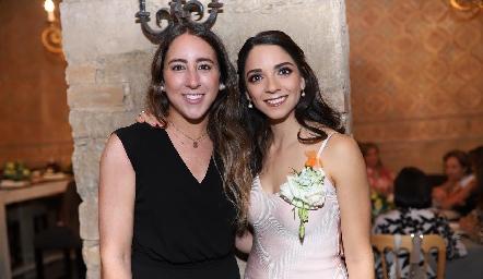 Diana Olvera y Sofía Álvarez.