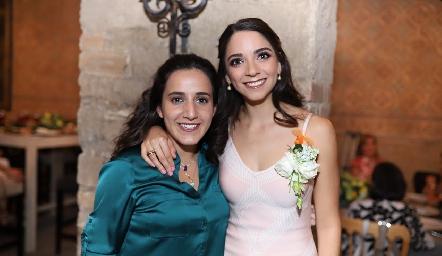 María Lavín y Sofía Álvarez.