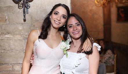Sofía Álvarez y Ale Ascanio.
