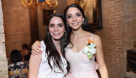 Guada Álvarez y Sofía Álvarez.