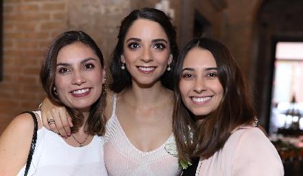 Sofía Rodríguez, Sofía Álvarez y Sofía Leiva.
