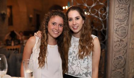 María Emilia Torre y Mónica Torres.