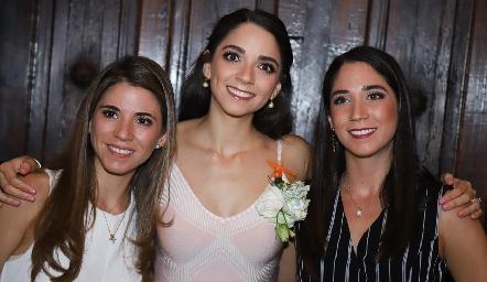 Las hermanas Isa, Sofi y Lulú Álvarez.