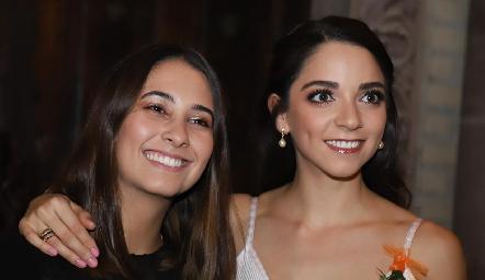 Sofía Leiva y Sofía Álvarez.