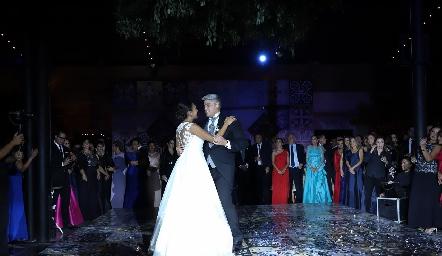 Pamela y Guillermo.