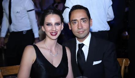 Cecilia Briones y Luis Chávez.