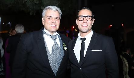 Guillermo González y Víctor Menchaca.