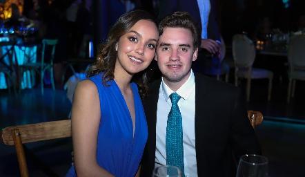 Regina Garduño y Luciano Molina.