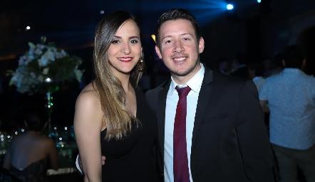 Mariana y Pedro Garza.