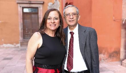 Dora Irma y Roberto Espinosa.