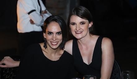 Cristy Díaz y Montse Salazar.