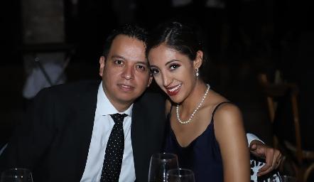 Alejandro Zapata y Mayra Álvarez.