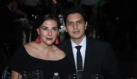 Elma Colles y Rubén Herrera.