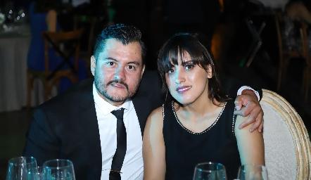 Sergio Sánchez e Ina Aguilar.