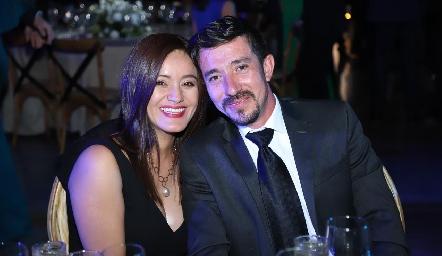 Adriana y Ramón.