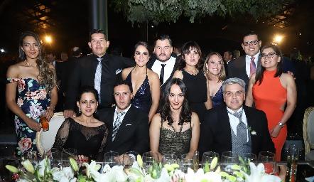 Guillermo con sus mejores amigos.