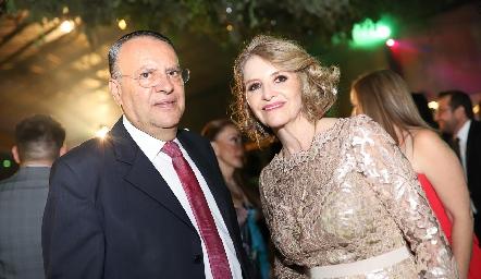 Guillermo Galarza y Laura González.