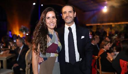 Adriana Cázares y Javier Díaz de León.