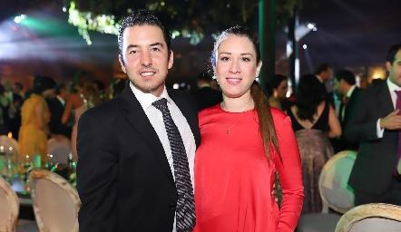Federico Mendizábal y Carla Puente.