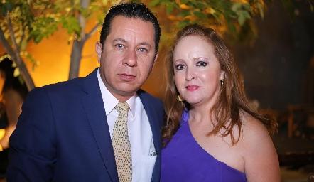 Mauricio Rivera y Sofía Acebo.